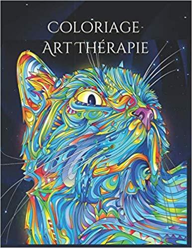 Coloriage art thérapie - Les chats